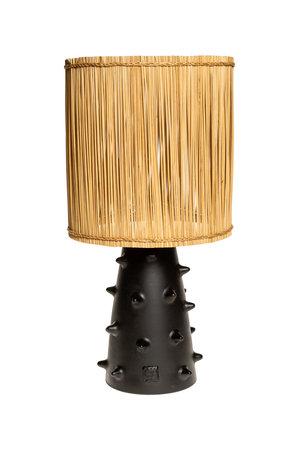 Rock The Kasbah Zwarte tafellamp n°2 riet