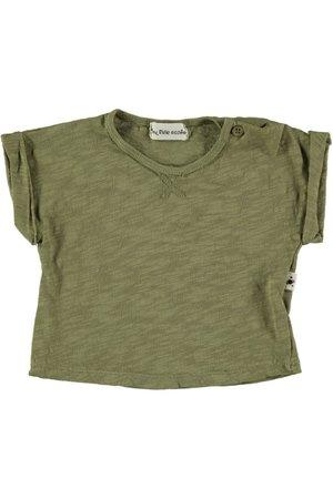 My little cozmo T-shirt baby print - khaki