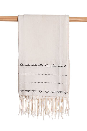 Couleur Locale Hand embroidered fouta