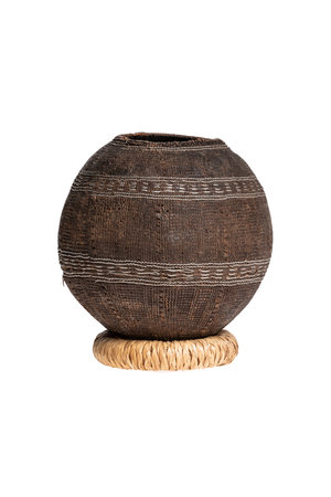 Borana Chocho milk container - basket #1