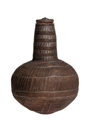 Borana Chocho milk container - basket #4