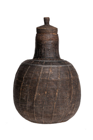 Borana Chocho milk container - basket #6