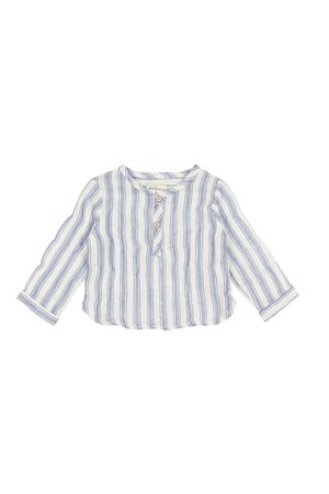 Buho Paul baby stripes shirt - indigo