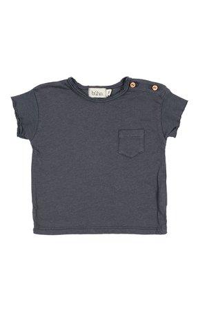 Buho Cedric linen t-shirt - graphite