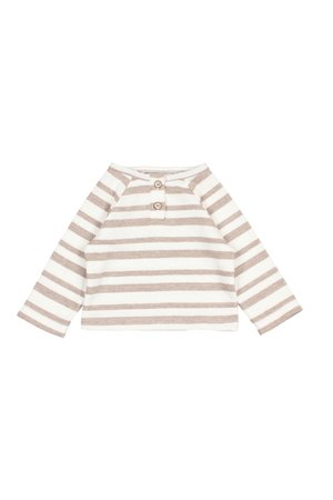 Buho Jan stripes sweater - natural