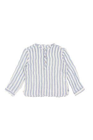 Buho Paul stripes shirt - indigo