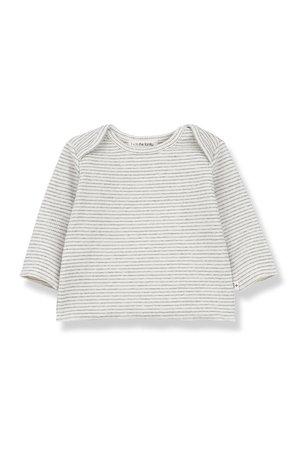 1+inthefamily Norma long sleeve t-shirt - ecru