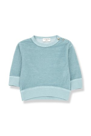 1+inthefamily Palau sweatshirt - mint