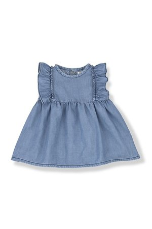1+inthefamily Menorca dress - denim