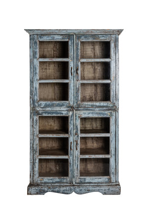Glass cabinet India #2 - blue
