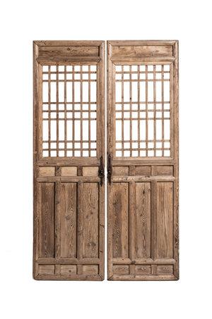 Set  of 2 old door panels