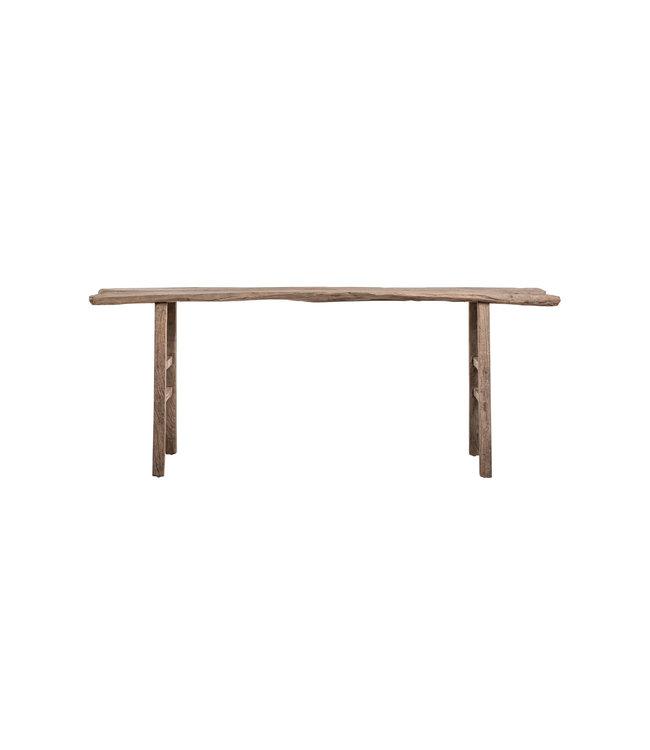 Sidetable elm wood 216cm