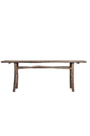 Sidetable elm wood 222cm
