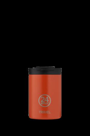 Travel tumbler - Sunset Orange - 350ml