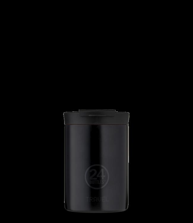 Travel tumbler -  tuxedo Black - 350ml