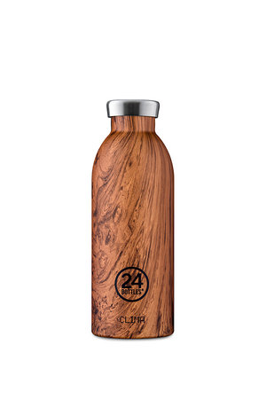 Clima Bottle - Sequoia wood - 500ml