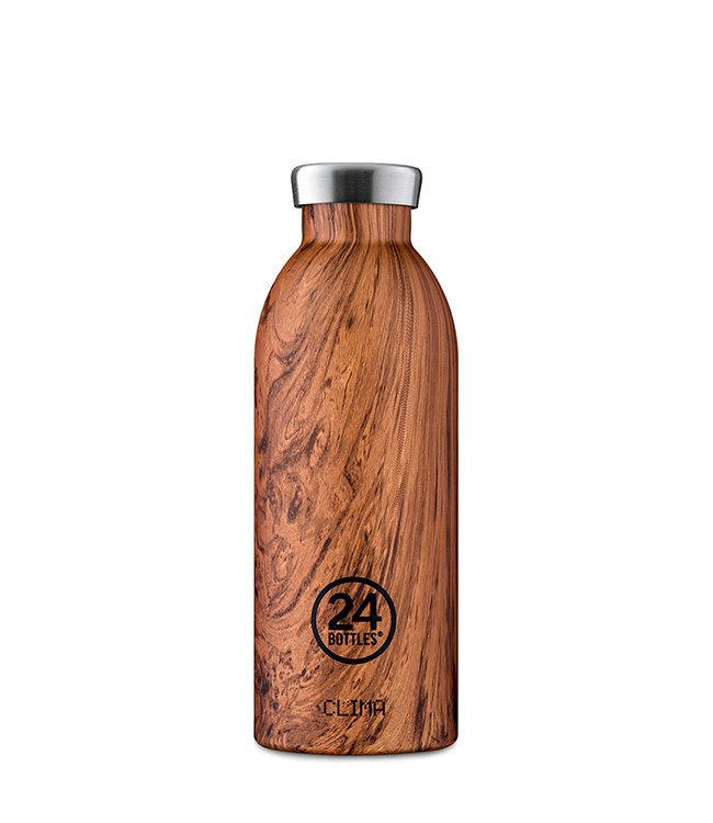Clima Bottle - Sequoia wood - 500ml