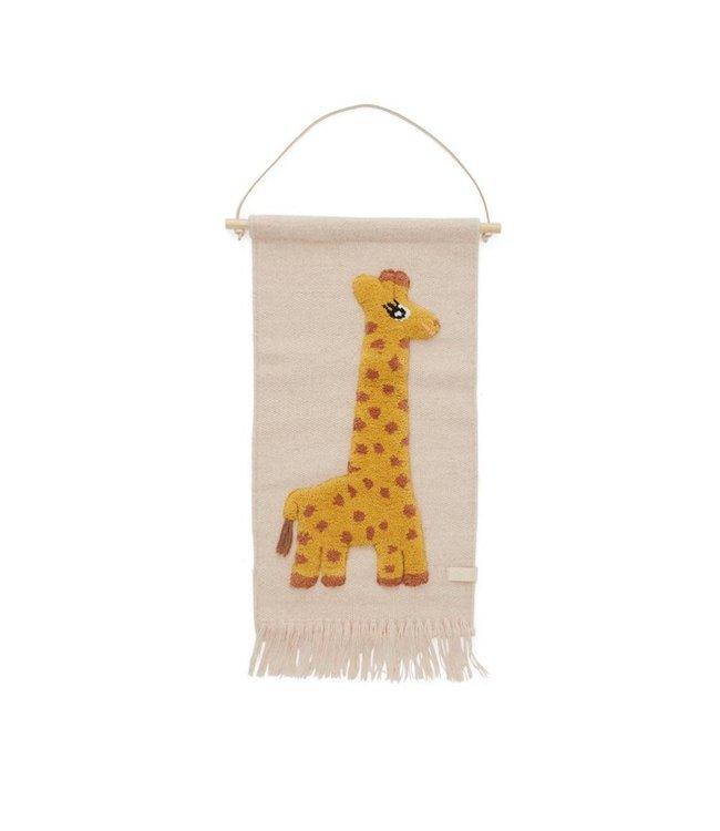 Giraf muurhanger