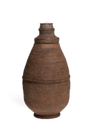 Woven milk container Oromo # 7