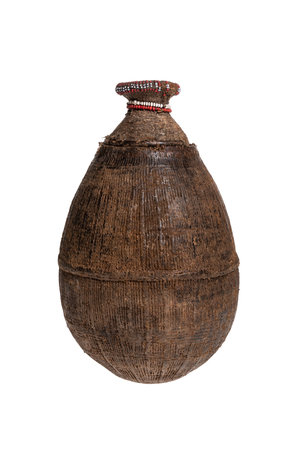 Woven milk container Oromo  # 10
