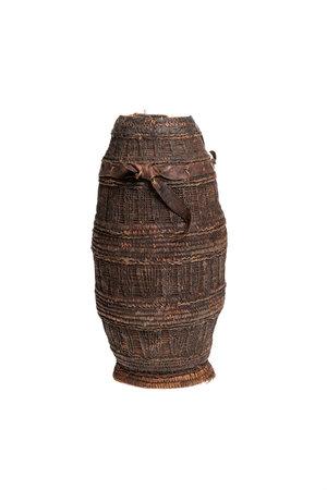 Woven milk container Oromo  # 1