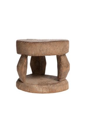 Old round stool Peul #1