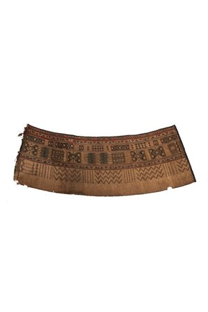 Tuareg wind barrier mat - Niger # 2