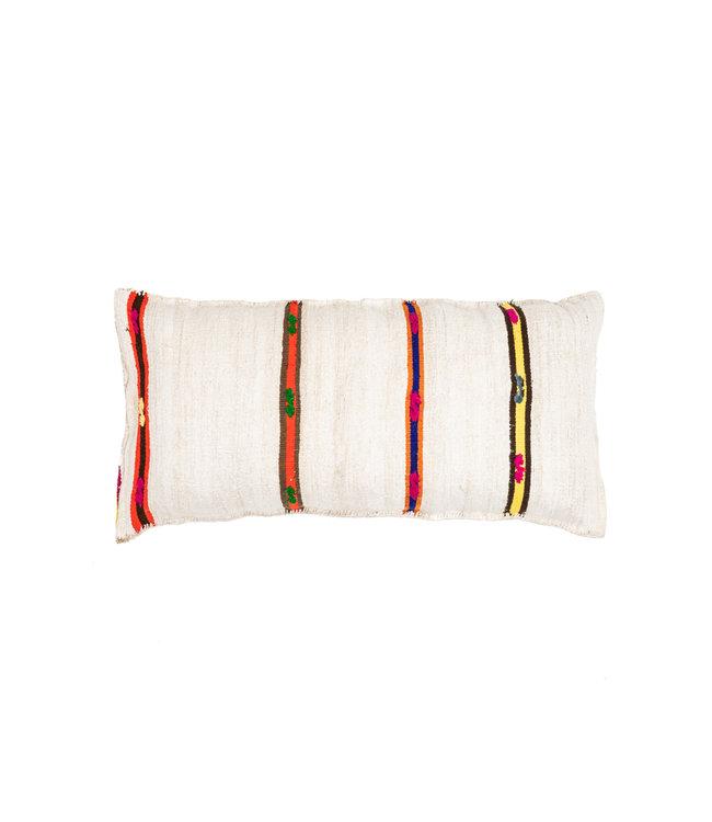 Kilim grain sack cushion #15