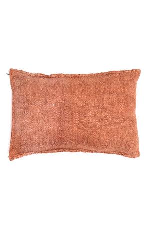 Kilim grain sack cushion #13