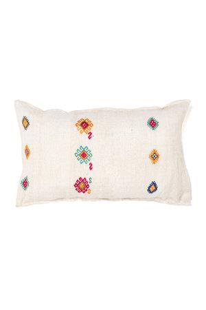 Kilim grain sack cushion #7
