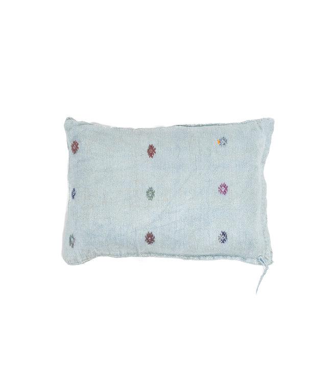 Kilim grain sack cushion#6