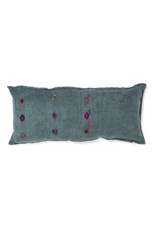 Kilim grain sack cushion #22