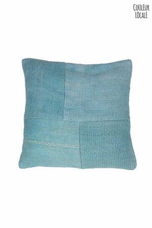 Kelim kussen - Turquoise - Turkije