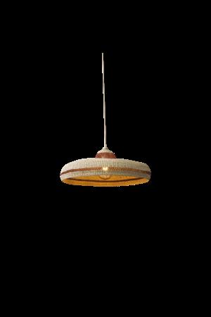 Hanging lamp 'hatter' - ginger