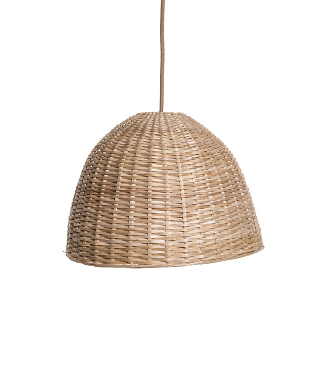 Bamboe hanglamp 'dome' - Colombia