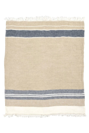 Libeco The Belgian towel - fouta - bastion stripe