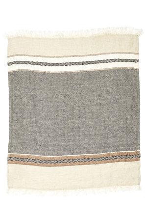 Libeco The Belgian towel - fouta - beeswax stripe