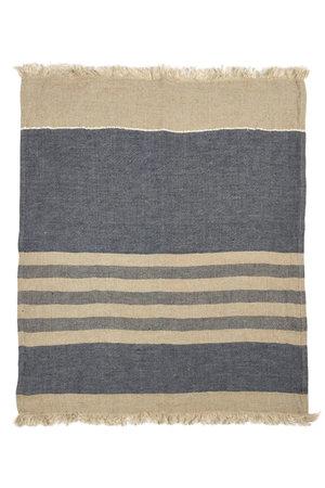 Libeco The Belgian towel - fouta - sea stripe