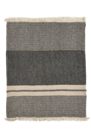 Libeco The Belgian towel - fouta - tack stripe