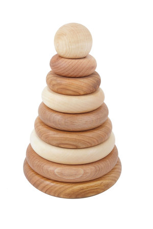 Wooden Story Wooden stacking toy