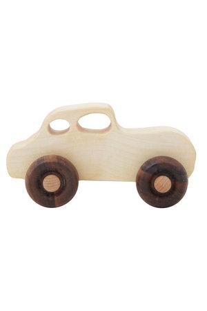 Wooden Story Houten retro auto