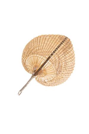 Decoratieve waaier bamboe S
