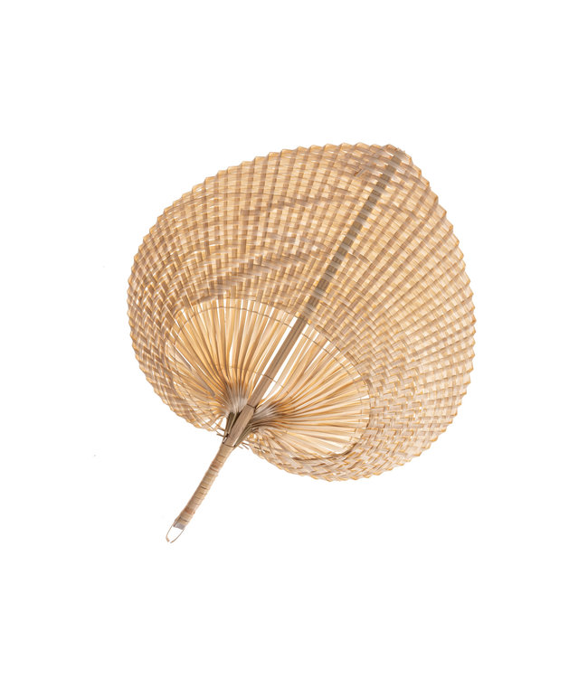 Decorative fan bamboo L