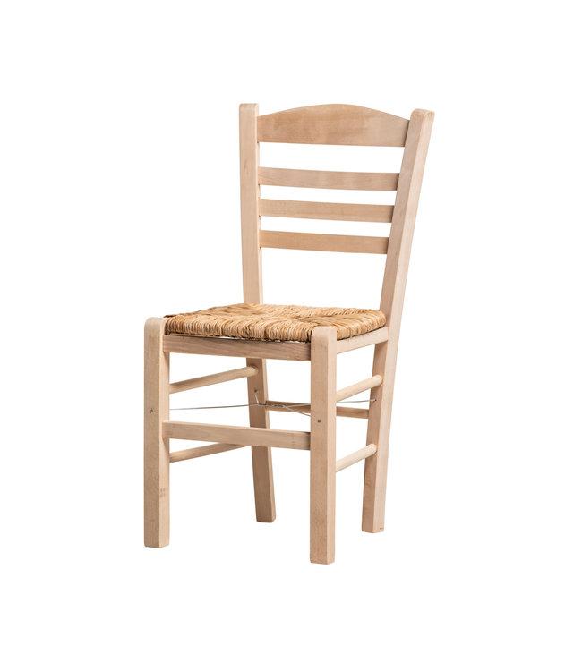 Griekse taverne stoel, onbehandeld