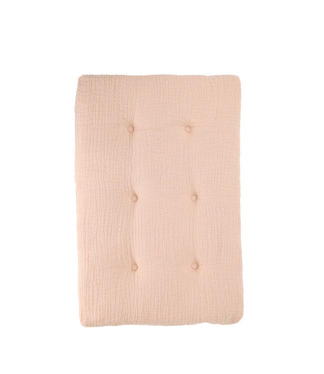Olli Ella Poppenwagen matras - roze