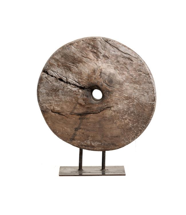 Oud houten karrenwiel