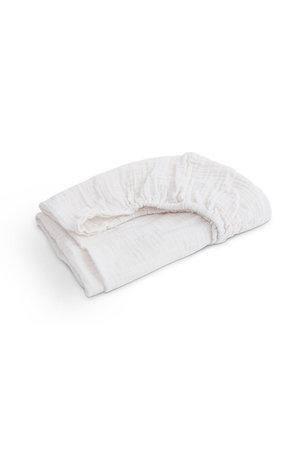 Moumout House changing mat fitted sheet - milk