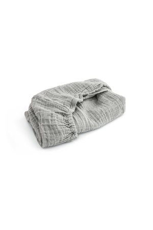 Moumout House changing mat fitted sheet - almond