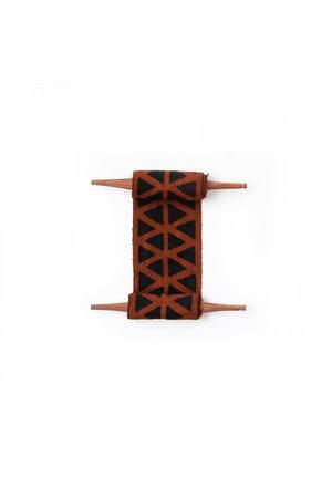AAAA Bogolan totem - longevity - brown/black