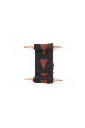 AAAA Bogolan totem - purpose - zwart/bruin